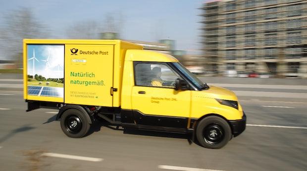 streetscooter deutsche post verkauft ihr elektroauto