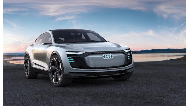Audi E-tron Sportback Concept. (Bild: Audi)
