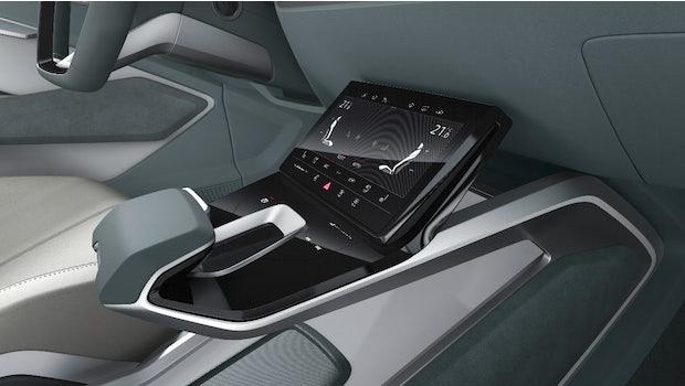 Interieur des Audi E-tron Sportback Concept. (Bild: Audi)