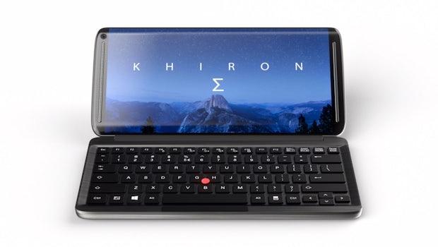 KS Pro: Das nunmehr dritte Mini-Notebook, das aktuell auf Indiegogo nach Unterstützern sucht. (Grafik: Khiron-Sigma)