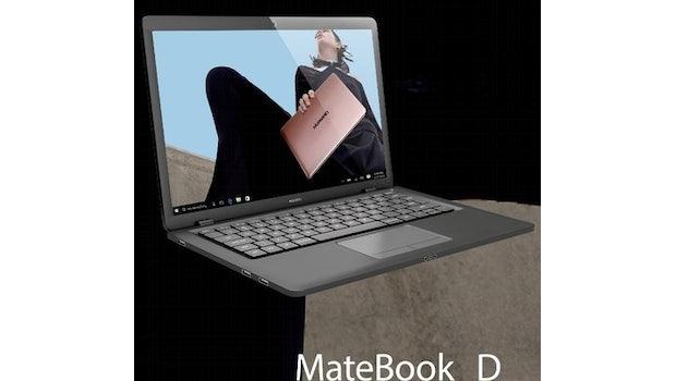 """Huawei Matebook D. (Bild: <a href=""""https://twitter.com/evleaks/status/851673248333004800"""">Evleaks</a>)"""