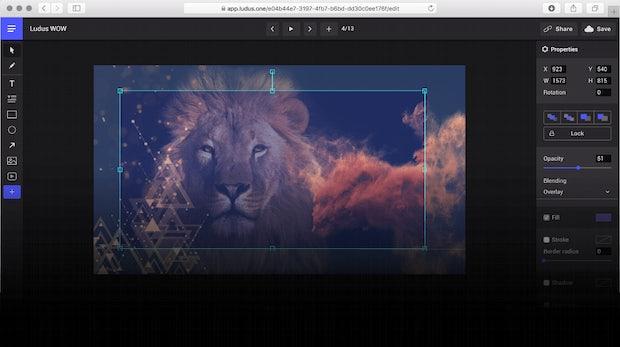 Ludus: Eine Powerpoint-Alternative nicht nur für Designer