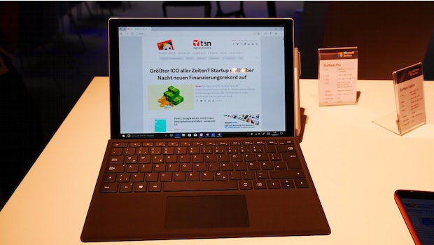 Microsoft Surface Pro: Stiftung Warentest empfiehlt die Windows-Konkurrenz. (Foto: t3n)