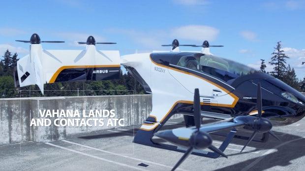 Vahana: Das ist das autonome Lufttaxi von Airbus
