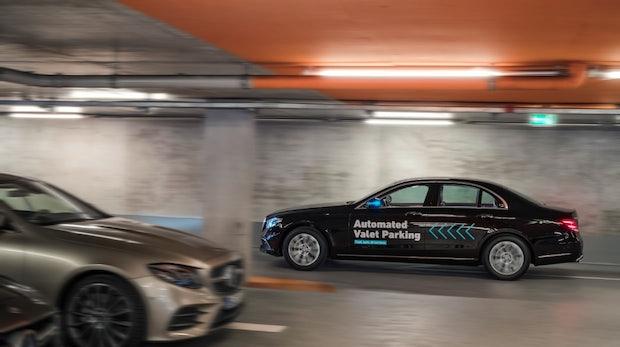Fahrerloses Parken: Bosch und Daimler stellen gemeinsame Lösung vor