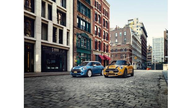 Mini und Alexa integriert im Fahrzeug. (Foto: BMW Group)