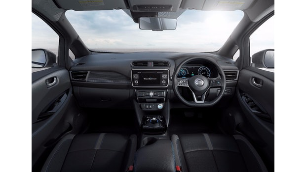 Der Innenraum: Nissan Leaf 2 (2017). (Foto: Nissan)