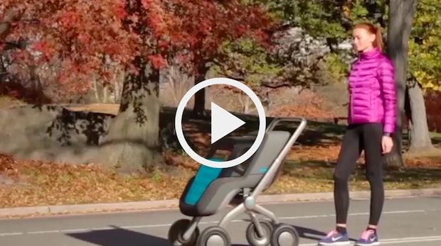 Kinderwagen 2.0: Smartbe fährt automatisch