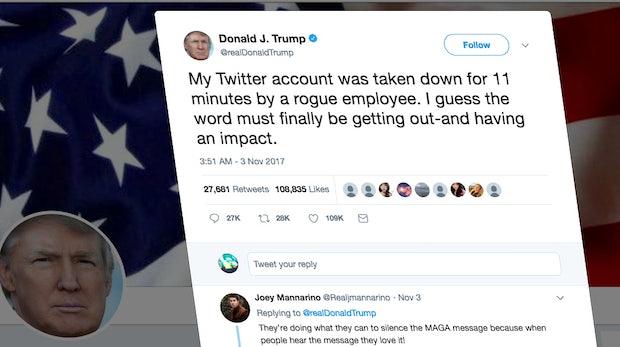Dieser Deutsche hat das Twitter-Konto von Donald Trump gesperrt – unabsichtlich